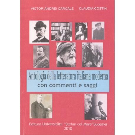 Antologia della litteratura italiana moderna con saggie commenti