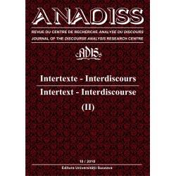 ANADISS, No. 10 / novembre / November 2010