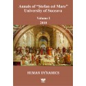 "Annals of ""Ştefan cel Mare"" University of Suceava Philosophy Social and Human Disciplines Volume I - 2010"