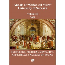 "Annals of ""Ştefan cel Mare"" University of Suceava Philosophy Social and Human Disciplines Volume I - 2009"