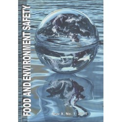 Food and Enviroment safety Volume X, Issue 4, 15 December  2011