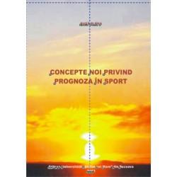 Concepte noi privind prognpza in sport