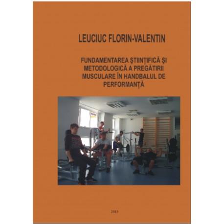 Fundamrentarea stiintifica si metodologica a pregatirii muscular in handbalul de performanta