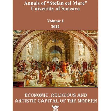 "Annals of ""Ştefan cel Mare"" University of Suceava Philosophy Social and Human Disciplines Volume I - 2012"