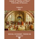 "Annals of ""Ştefan cel Mare"" University of Suceava Philosophy Social and Human Disciplines Volume II - 2012"