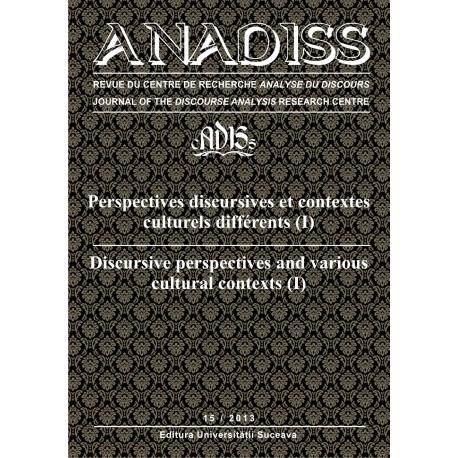 Anadiss, nr 15 - 2013