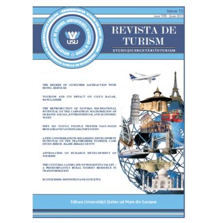 Revista de turism, Nr 15