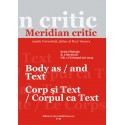 Meridian critic, Seria Filologie, B. Literatura, Tomul XVII, nr.1(20), 2013