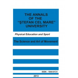 "The annals of the ""Ştefan cel Mare"" University Physical Education and Sport Section Nr. 2(11), 2013"