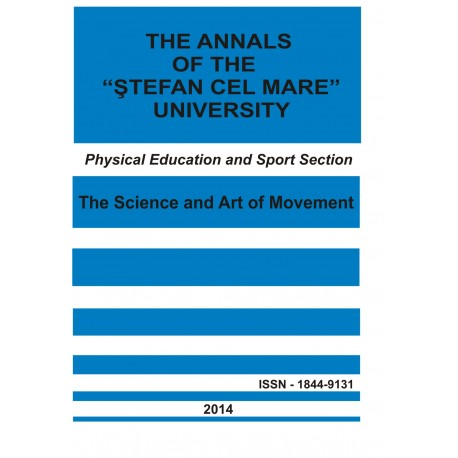 "The annals of the ""Ştefan cel Mare"" University Physical Education and Sport Section Nr. 1(12), 2014"