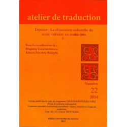 Atelier de Traduction Nr.22 -2014