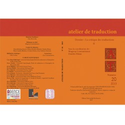 Atelier de Traduction Nr.20 -2014
