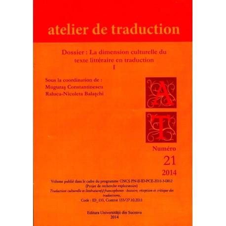 Atelier de Traduction Nr.21 -2014