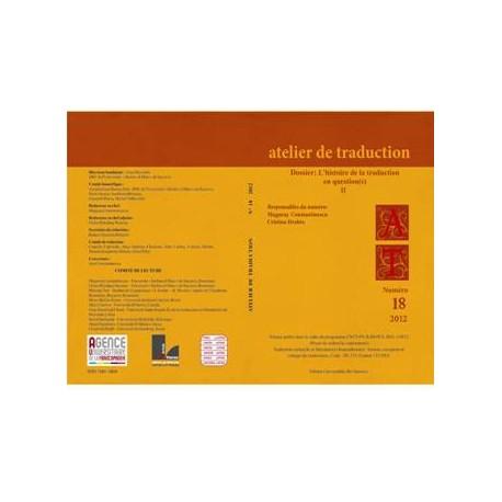 Atelier de Traduction Nr.18 -2014