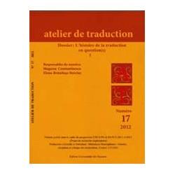 Atelier de Traduction Nr.17 -2012