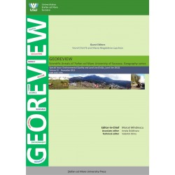 Annals of the Stefan cel Mare University of Suceava, Geography Series, GEOREVIEW, nr 23/2013