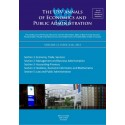 The USV Annals of Economics and Public Administration VOLUME 12, ISSUE 2(16), 2012