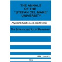 "The annals of the ""Ştefan cel Mare"" University Physical Education and Sport Section Nr. 1(14)/decembrie 2015"