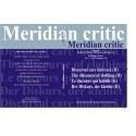 Meridian Critic. Discursul care îmbracă (The Discourse of Clothing) vol 2