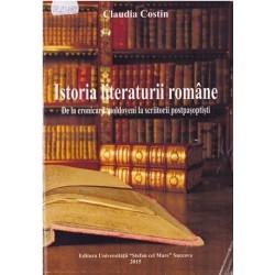 Istoria literaturii române. De la cronicarii moldoveni la scriitorii pospaşoptisti -  Curs pentru studenţii de la ID